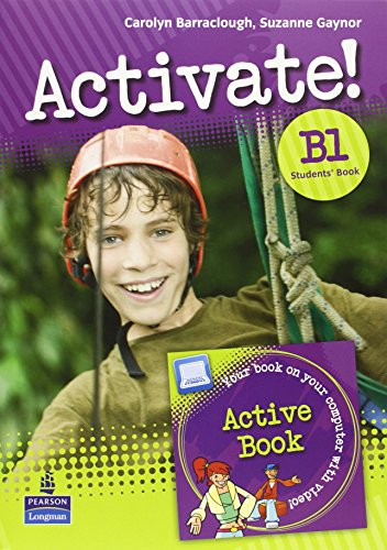 Activate! B1 Students' Book and Active Book: Carolyn Barraclough; Suzanne