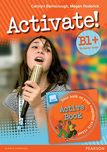 9781408253885: Activate! B1+ Students' Book and Active Book Pack