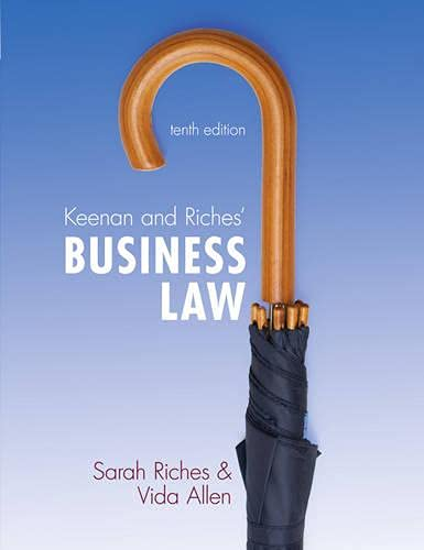 9781408254196: Keenan and Riches' Business Law