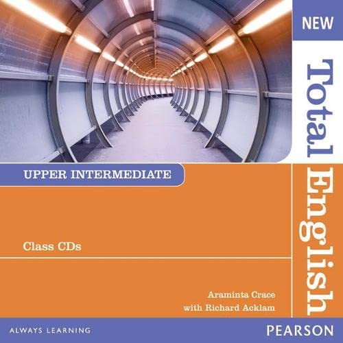 9781408254271: New Total English Upper Intermediate Class Audio CD