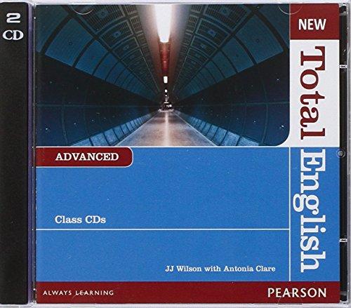 9781408254301: New Total English Advanced Class Audio CD