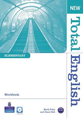 9781408254653: New Total English Elementary Workbook without key for Pack