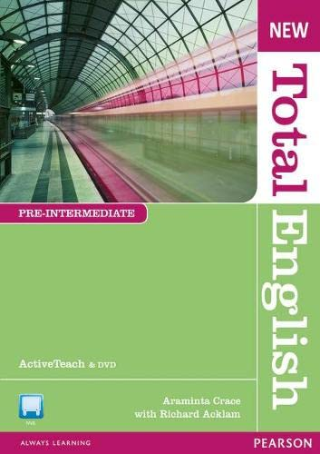 9781408255056: New Total English Pre Intermediate Active Teach