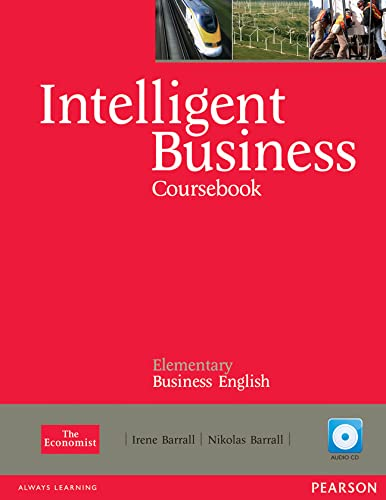 9781408255988: Intelligent Business Elementary Course Book with Audio CD