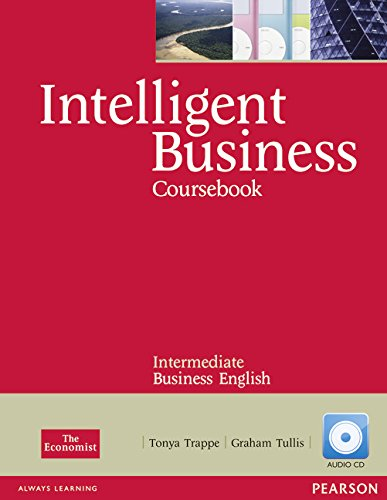 9781408255995: Intelligent Business Intermediate Course Book with Audio CD
