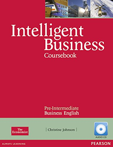 9781408256008: Intelligent Business Pre-Intermediate Coursebook/CD Pack
