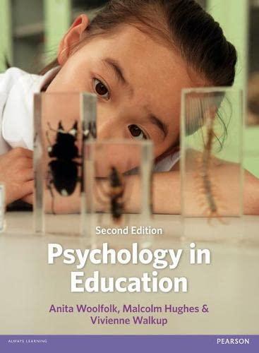 Psychology in Education (Paperback): Malcolm Hughes, Vivienne