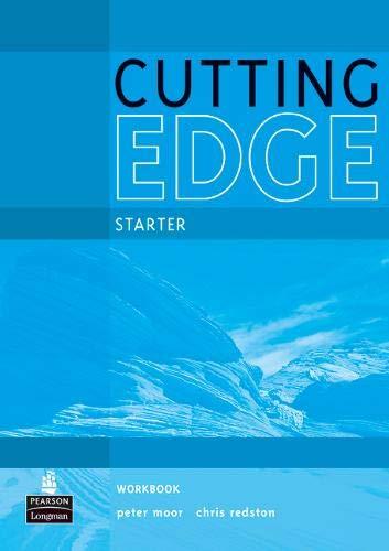 9781408258002: Cutting Edge Starter Workbook No Key