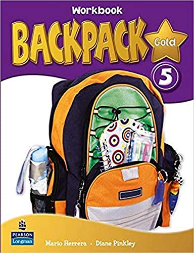9781408258224: Backpack Gold 5 Workbook, CD and Content Reader Pack Spain