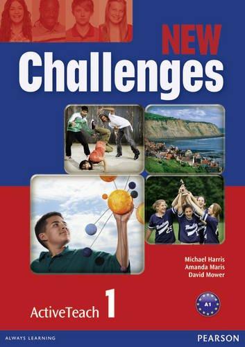 9781408258569: New Challenges 1 Active Teach: 1