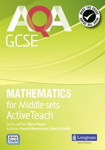 AQA GCSE Mathematics Middle Sets ActiveTeach DVD (Mixed media product): David Mantovani, Harry ...