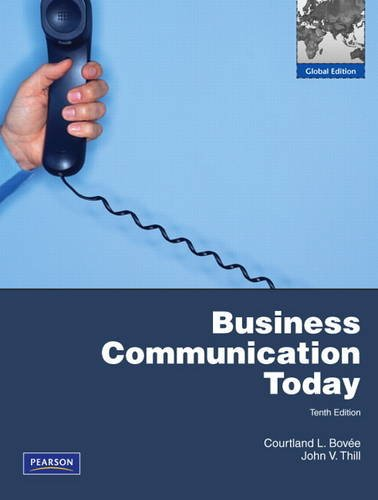 9781408259443: Business Communication Today with MyBusCommLab Pack: Global Edition