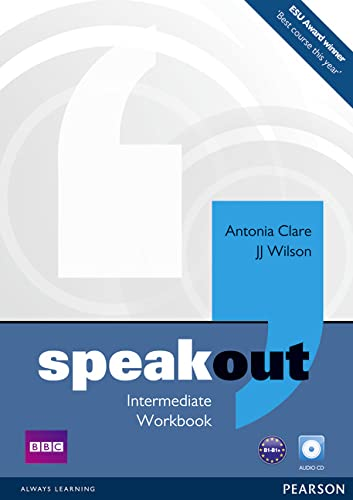 Speakout Intermediate Workbook with Key and Audio: Antonia Clare, J.