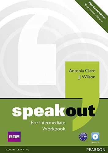 9781408259504: Speakout. Pre-intermediate. Workbook. Per le Scuole superiori. Con CD-ROM