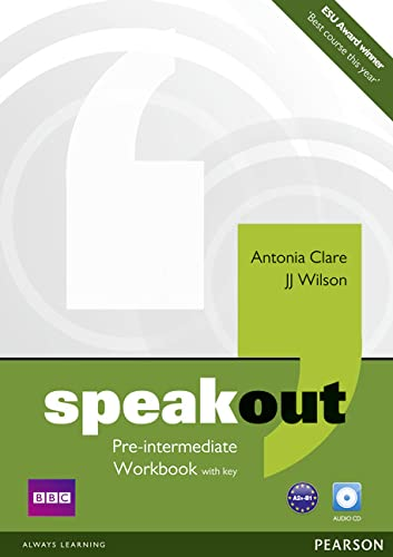 9781408259511: Speakout Pre Intermediate Workbook with Key and Audio CD Pack