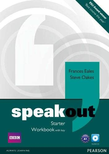9781408259535: Speakout Starter Workbook with Key and Audio CD Pack
