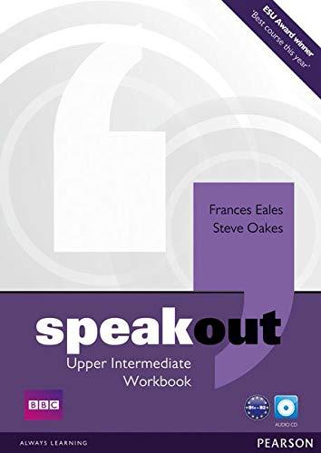 9781408259542: Speakout Upper Intermediate Workbook no Key and Audio CD Pack