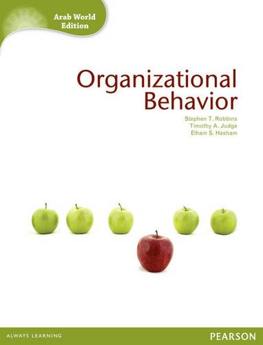 9781408259658: Organizational Behavior (Arab World Edition)