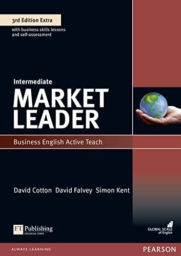 9781408259962: Market Leader 3rd Edition Intermediate Active Teach