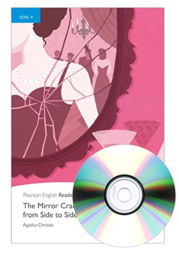 9781408261309: Penguin Readers 4: The Mirror Cracked From Side to Side Book and MP3 Pack (Pearson English Graded Readers) - 9781408261309 (Pearson english readers)