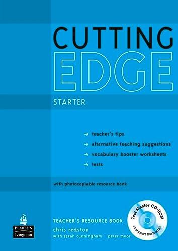 9781408262290: Cutting Edge Starter Teacher's Book/Test Master CD-Rom Pack