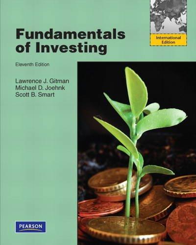 Fundamentals of Investing plus MyFinanceLab XL 12: Gitman, Lawrence J.