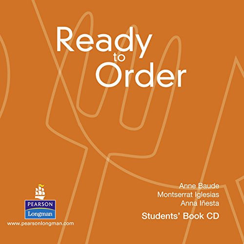 9781408263020: Ready to Order Class Audio CD