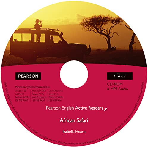 9781408263976: Level 1: African Safari Multi-ROM with MP3 for Pack (Pearson English Active Readers)