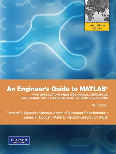 9781408264133: An Engineers guide to Matlab: International Edition Plus MATLAB & Simulink Student Version 2010