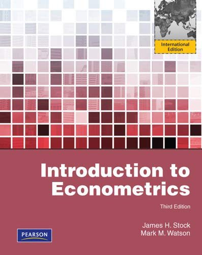 9781408264331: Introduction to econometrics : international ed.