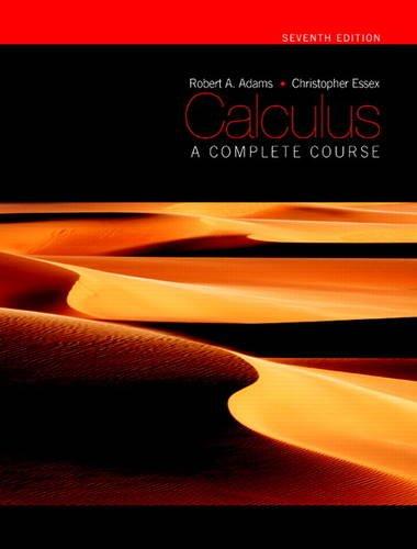9781408265529: Calculus: A Complete Course