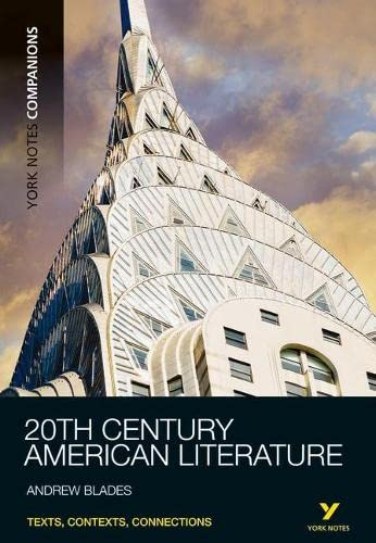 9781408266649: 20th Century American Literature (York Notes Companions)