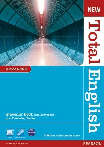 9781408267141: New Total English Advanced Students' Book with Active Book Pack