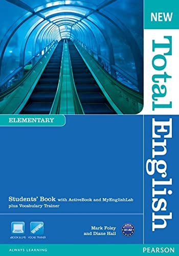 9781408267158: New Total English Elementary Students' Book with Active Book and MyLab Pack