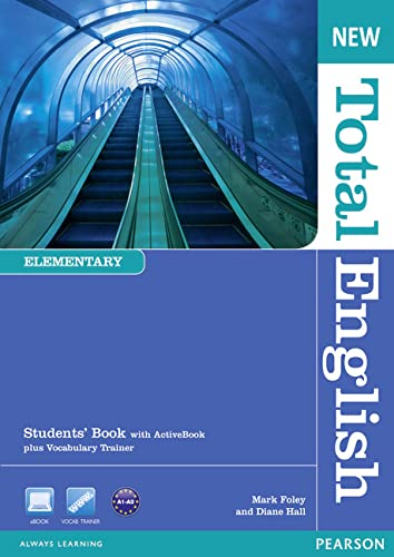 9781408267165: New Total English Elementary Students' Book with Active Book Pack