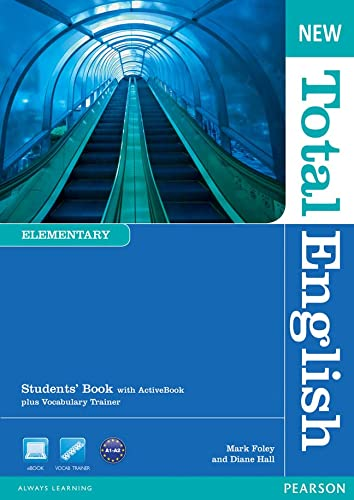 9781408267165: New Total English Elementary Students' Book (with Active Book CD-ROM) [Lingua inglese]