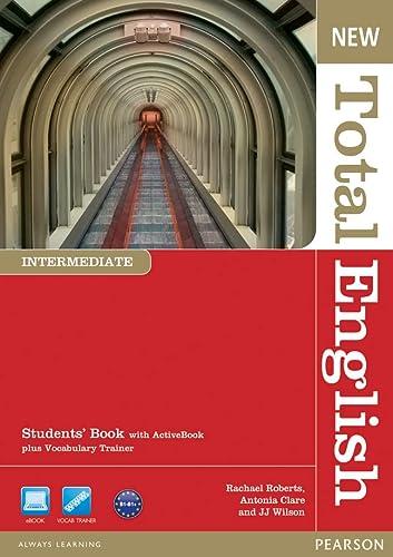 9781408267189: New Total English. Intermediate. Students' Book + DVD