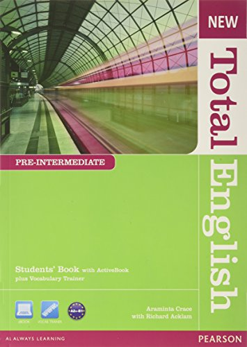 9781408267202: New Total English Pre-Intermediate Students' Book with Active Book Pack