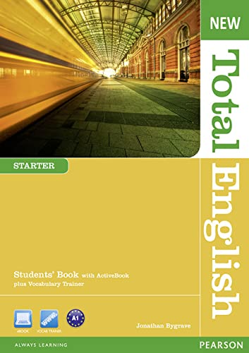 9781408267219: New Total English Starter Students' Book With Active Book plus Vocabulary Trainer