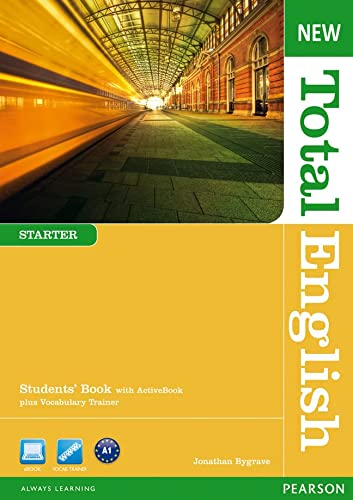 New Total English Starter Students' Book With: Hall, Diane