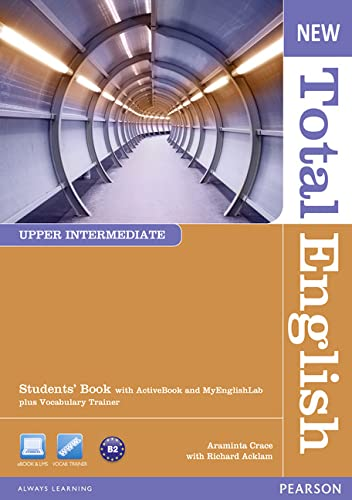 9781408267233: New Total English Upper Intermediate Students' Book with Active Book and Pack