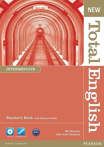 9781408267271: New Total English Intermediate Teacher's Book and Teacher's Resource CD