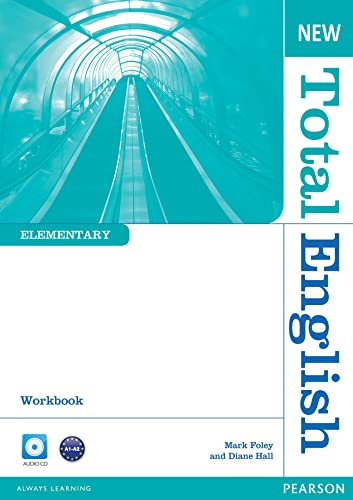 9781408267349: New Total English Elementary Workbook without Key and Audio CD Pack