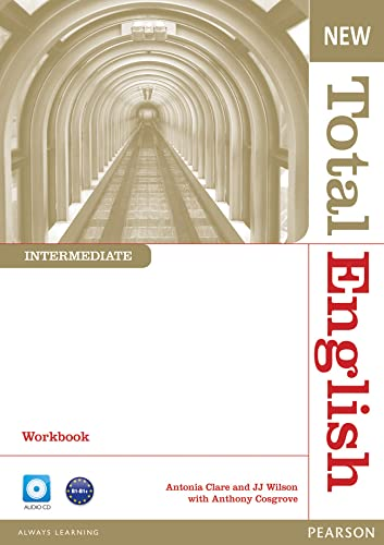 9781408267363: New Total English Intermediate Workbook without Key and Audio CD Pack