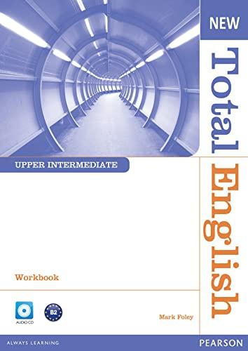 9781408267424: New Total English Upper Intermediate Workbook without Key and Audio CD Pack