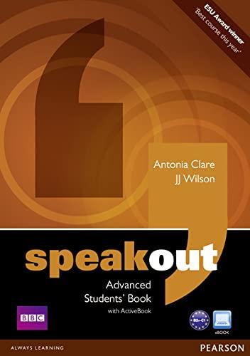 Speakout. Advanced Level: ANTONIA CLARE