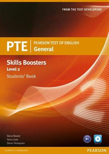 9781408267820: Pearson Test of English General Skills Booster 2 Students' Book and CD Pack (Pearson Tests of English)