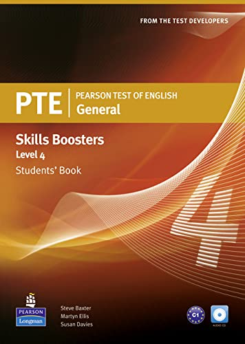 9781408267844: Pearson Test of English General Skills Booster 4 Students' Book and CD Pack (Pearson Tests of English)