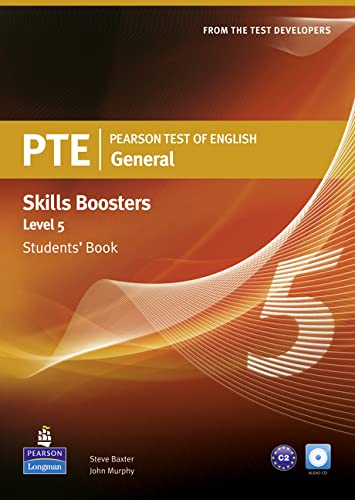 9781408267851: Pearson Test of English General Skills Booster 5 Students' Book and CDPack (Pearson Tests of English)
