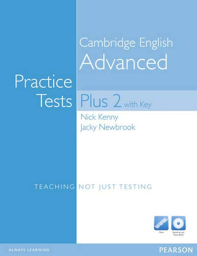 9781408267875: Practice Tests Plus CAE 2 with Answer Key & CD-ROM